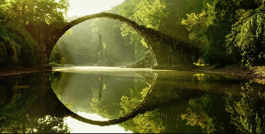 15 poduri unde natura si timpul par inghetate