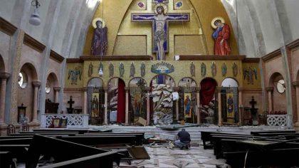 Supravietuirea altarului Bisericii Ortodoxe din...