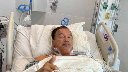 Arnold Schwarzenegger, operat pentru a...