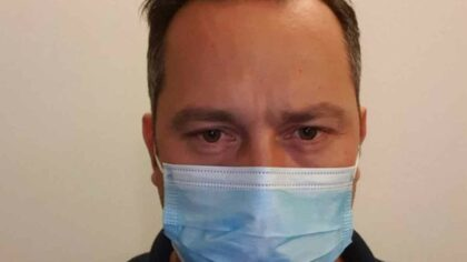 Cadru medical infectat cu Covid:...