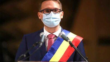Primarul Timisoarei, Dominic Fritz, are...