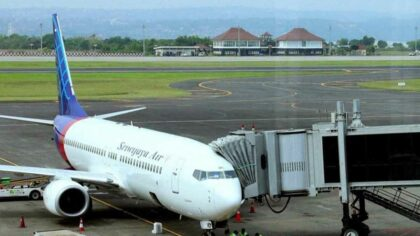 Un Boeing 737, despre care...