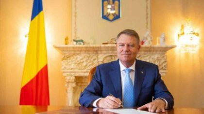 Klaus Iohannis a promulgat legea...