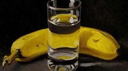 Combinatia de apa si banane...